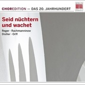 Seid nüchtern und wachet (Choral music from the Twentieth century) by Various Artists