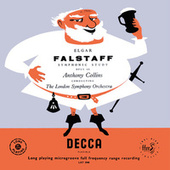 Elgar: Falstaff; Introduction and Allegro; Serenade; Vaughan Williams: Fantasia on a theme by Thomas Tallis; Fantasia on Greensleeves (Anthony Collins Complete Decca Recordings, Vol. 11) by Anthony Collins