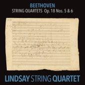 Beethoven: String Quartet in A Major, Op. 18 No. 5; String Quartet in B-Flat Major, Op. 18 No. 6 (Lindsay String Quartet: The Complete Beethoven String Quartets Vol. 3) de Lindsay String Quartet