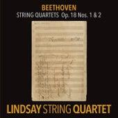 Beethoven: String Quartet in F Major, Op. 18 No. 1; String Quartet in G Major, Op. 18 No. 2 (Lindsay String Quartet: The Complete Beethoven String Quartets Vol. 1) de Lindsay String Quartet