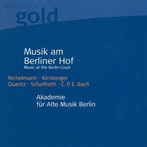 Orchestral Music (18th Century German) - NICHELMANN, C. / KIRNBERGER, J.P. / QUANTZ, J.J. / SCHAFFRATH, C. (Berlin Akademie fur Alte Musik) by Various Artists