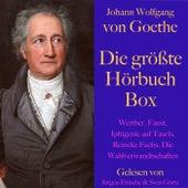 Johann Wolfgang von Goethe: Die größte Hörbuch Box (Werther, Faust, Novelle, Reineke Fuchs, Die Wahlverwandtschaften, Märchen, Gedichte) de Johann Wolfgang von Goethe