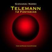 Telemann: 12 Fantasias for soprano Saxophone by Giovanni Nardi
