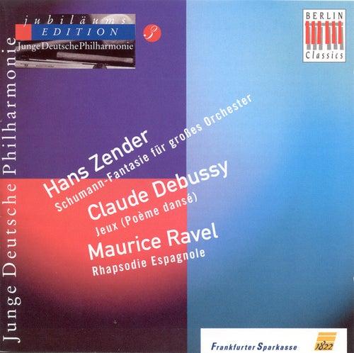 Hans Zender: Schumann-Phantasie /Claude Debussy: Jeux / Maurice Ravel: Rapsodie espagnole (German Youth Philharmonic Jubilee Edition, Vol. 3) by Various Artists