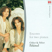 Encores for two pianos by Various Artists