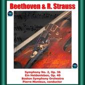 Beethoven & R. Strauss: Symphony No. 2, Op. 36 - Ein Heldenleben, Op. 40 de Pierre Monteux