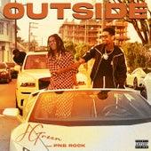 Outside (feat. PnB Rock) de J. Green