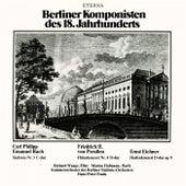 Bach.: Sinfonia, Wq. 182 ,Preussen: Flute Concerto No. 4, Eichner: Violin Concerto, Op. 9 (Frank) von Various Artists
