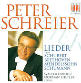 Schubert, Beethoven, Mendelssohn & Schumann: Lieder von Various Artists