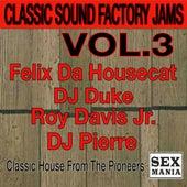 Classic Sound Factory Jams - Vol. 3 de Various Artists