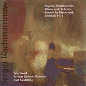 Sergei Rachmaninoff: Rhapsody on a Theme of Paganini / Piano Concerto No. 2 (Rosel, Berlin Symphony, K. Sanderling) di Kurt Sanderling, Berlin Symphony Orchestra, Peter Rosel