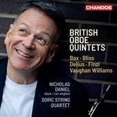British Oboe Quintets by Nicholas Daniel