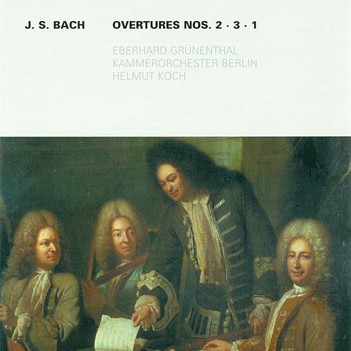 Bach: Overtures (Suites) Nos. 1-3 by Various Artists