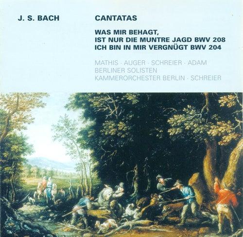 Johann Sebastian Bach: Cantatas - BWV 204, 208 (Schreier) by Various Artists