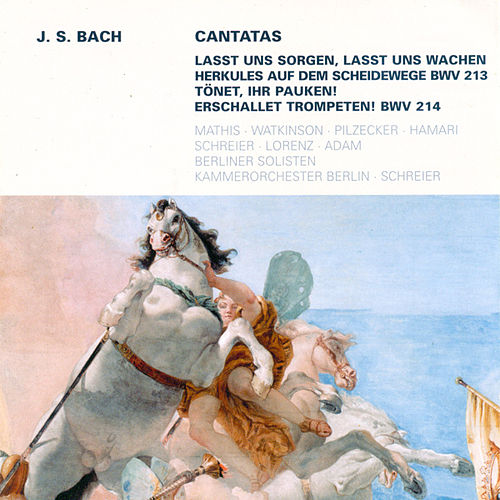 Bach: Cantatas - BWV 213, 214 by Various Artists