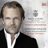 Bach & Sons: Piano Concertos by Sir Roger Norrington Sebastian Knauer