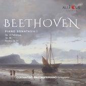 Beethoven: Piano Sonatas, Vol. 3 (Op. 13 Pathétique, Op. 14, Rondos Op. 51) fra Costantino Mastroprimiano