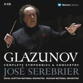 Glazunov : Complete Symphonies & Concertos by José Serebrier