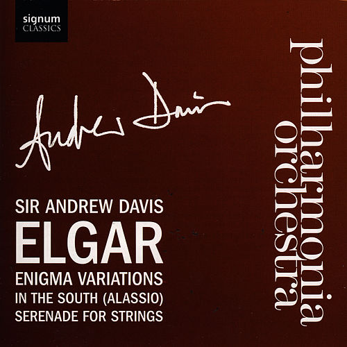 Enigma Variations, In the South, Serenade For Strings by Philharmonia Orchestra