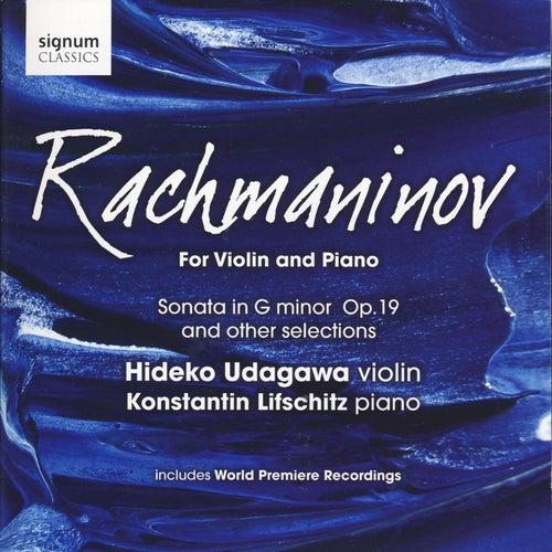Rachmaninov for Violin and Piano by Hideko Udagawa