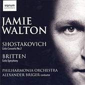 Shostakovich Cello Concerto No. 2, Britten Cellos Symphony by Jamie Walton