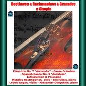 Beethoven & Rachmaninov & Granados & Chopin: Piano trio No. 7
