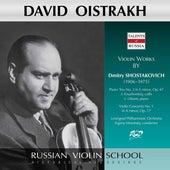 Shostakovich: Piano Trio No. 2, Op. 67 & Violin Concerto No. 1, Op. 77 (Live) by David Oistrakh