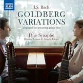 J.S. Bach: Goldberg Variations, BWV 988 (Arr. for 10-String Guitar Duo) by Duo Synaphé