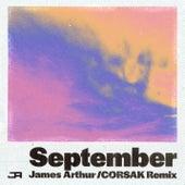 September (CORSAK Remix) by James Arthur