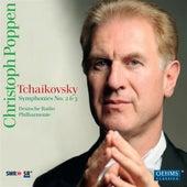 Tchaikovsky: Symphonies No. 2 & 3 by German Radio Saarbrucken-Kaiserslautern Philharmonic Orchestra