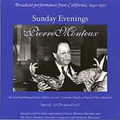 Sunday Evenings with Pierre Monteux (1941-1952) de Various Artists