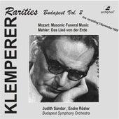 Klemperer Rarities: Budapest, Vol. 2 (1948) by Various Artists