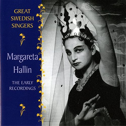 Hallin, Margareta: The Early Recordings (1955-1960) by Margareta Hallin