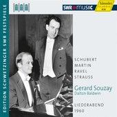 Souzay: Liederabend 1960 by Gerard Souzay