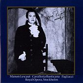 Bjorling, Jussi: Manon Lescaut, Cavallerina Rusticana & Pagliacci (1954, 1959) von Jussi Bjorling
