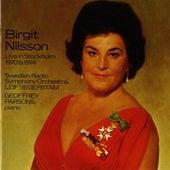 Birgit Nilsson Live in Stockholm (1970, 1973) de Birgit Nilsson