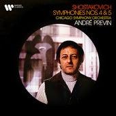 Shostakovich: Symphonies Nos. 4 & 5 von Chicago Symphony Orchestra