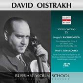Rachmaninoff: Trio élégiaque No. 2 in D Minor, Op. 9 - Tchaikovsky: Violin Concerto in D Major, Op. 35, TH 59 (Live) by David Oistrakh