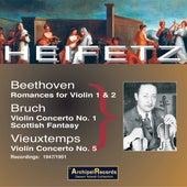 Jascha Heifetz Violin de Gabor Rejto