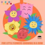 Five Little Flowers Growing in a Row de ItsyBitsyKids