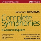 Brahms: Complete Symphonies & Ein deutsches Requiem, Op. 45 by Roger Norrington