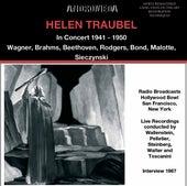 Helen Traubel in Concert de Helen Traubel