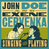 Singing and Playing by John Doe & Exene Cervenka