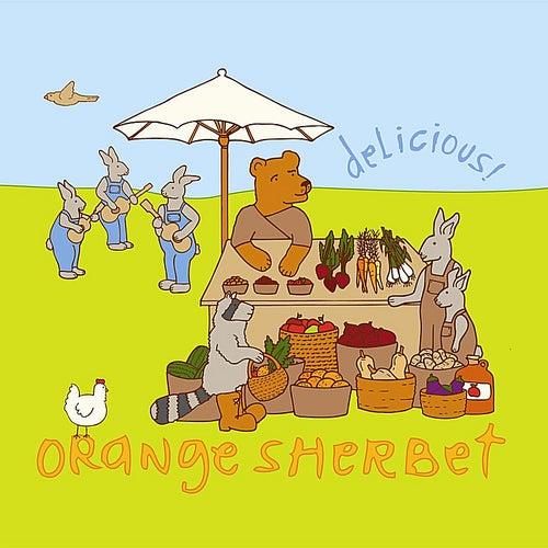 Delicious by Orange Sherbet