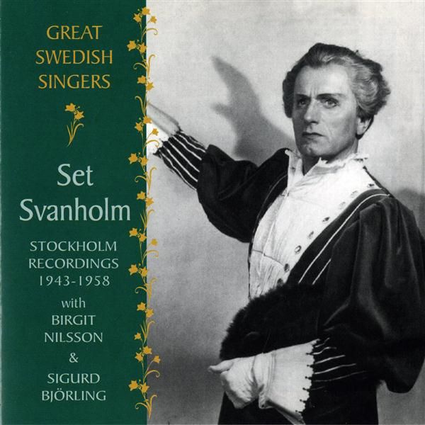 Great swedish singers set svanholm 1943 1958 by set svanholm - Durch wande horen app ...