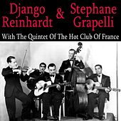 Django Reinhardt & Stephanie Grappelli With The Quintet Of The Hot Club Of France de Django Reinhardt