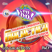 Los Galacticos Vol. 1 de Marimba Orquesta Galactica