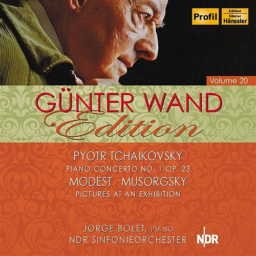 Tchaikovsky: Piano Concerto No. 1 - Mussorgsky: Pictures at an Exhibition (Wand Edition, Vol. 20) by Various Artists