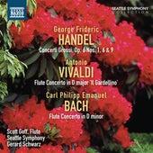 Handel: Concerti Grossi, Op. 6, Nos. 1, 6 & 9 - Bach: Flute Concerto, H. 425 von Various Artists