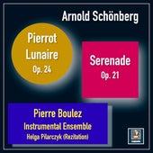 Schönberg: Serenade, Op. 24 & Pierrot lunaire, Op. 21 de Pierre Boulez